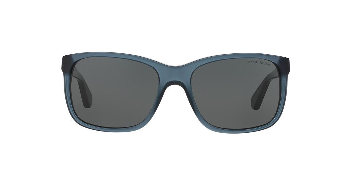 GIORGIO ARMANI Blue AR8016 Grey lenses 58mm