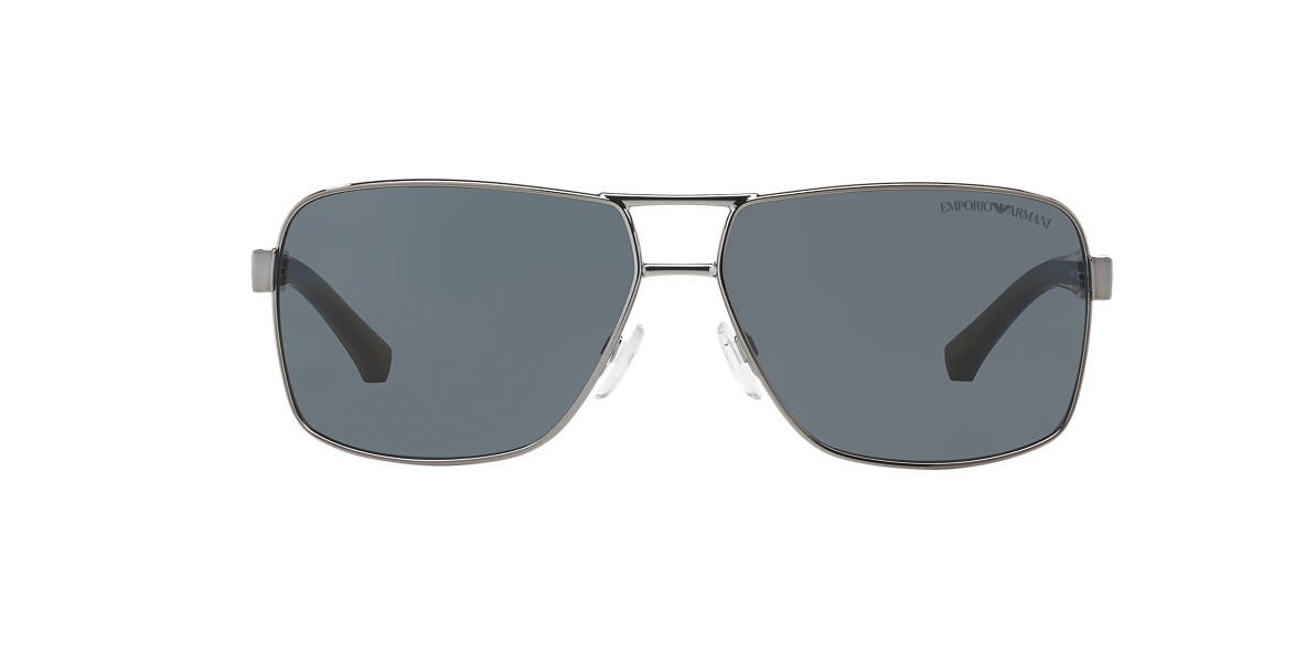EMPORIO ARMANI Gunmetal EA2001 Grey polarised lenses 64mm