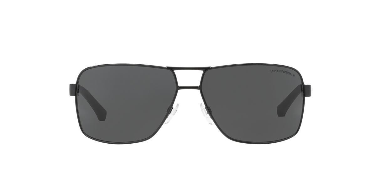 EMPORIO ARMANI Black EA2001 Grey lenses 64mm