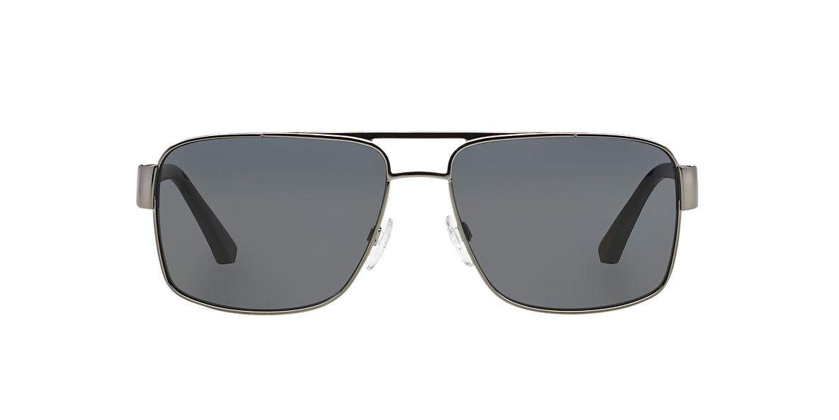 EMPORIO ARMANI Gunmetal EA2002 Grey polarized lenses 57mm