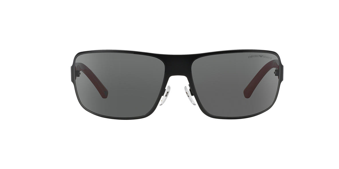 EMPORIO ARMANI Black Matte EA2005 Grey lenses 61mm