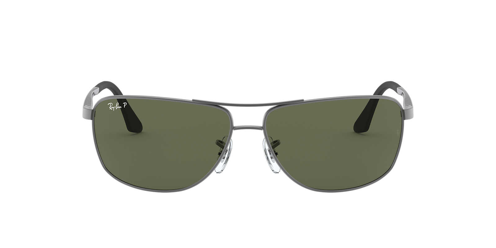 ray ban glass scratch repair  ray ban gunmetal matte rb3506 64 green polarized lenses 64mm