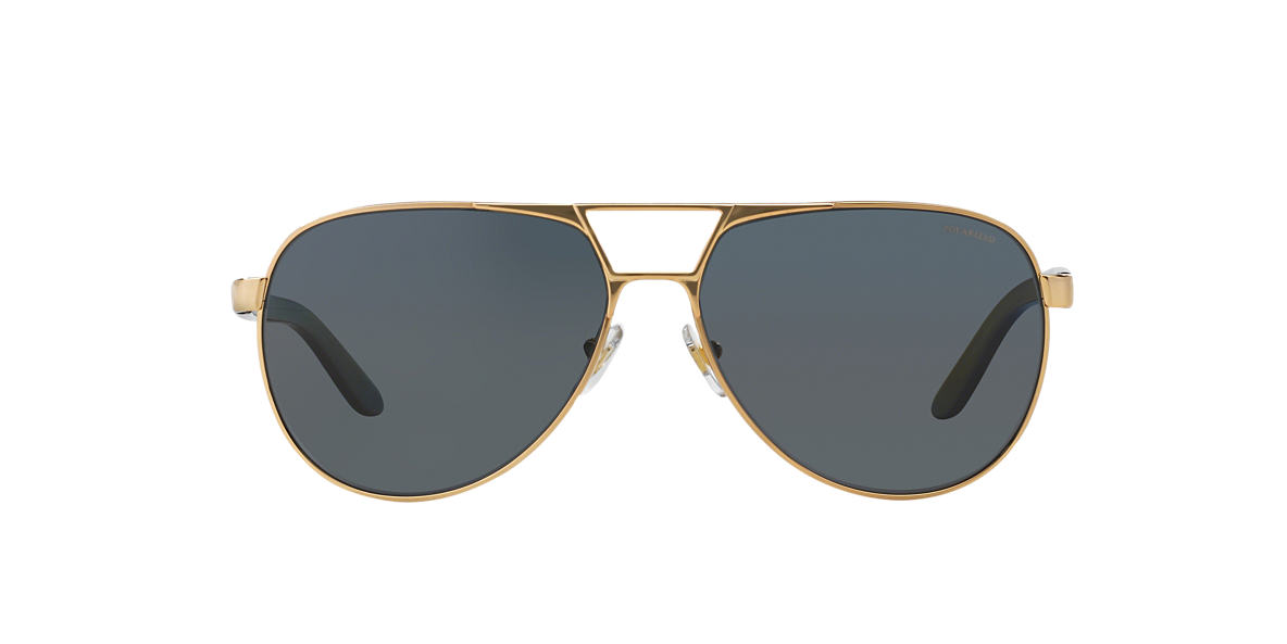 VERSACE Gold VE2142 Grey polarized lenses 60mm