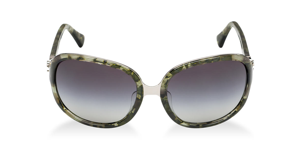 DOLCE and GABBANA Green DG4187PD 59 ICONIC LOGO Grey lenses 59mm