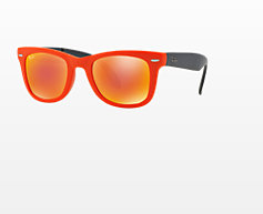 RB4105 FOLDING WAYFARER 50 $164.95