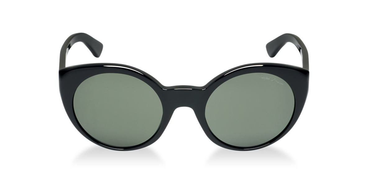 RALPH LAUREN Black RL8104W Green lenses 52mm