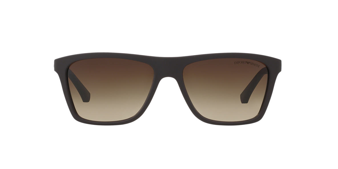 EMPORIO ARMANI Brown EA4001 Brown lenses 56mm