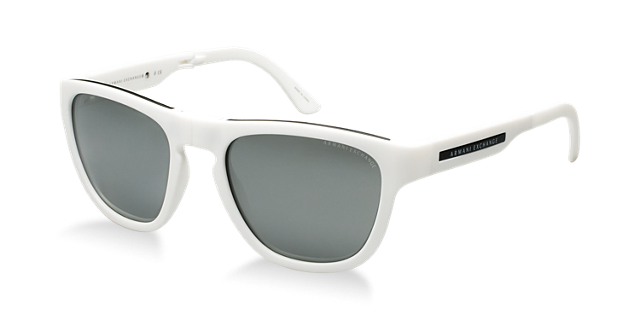Image of Armani Exchange Ax4012 Multicolor Square Sunglasses