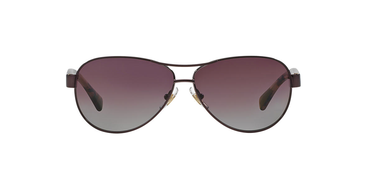 RALPH Tortoise RA4096 Purple polarized lenses 59mm
