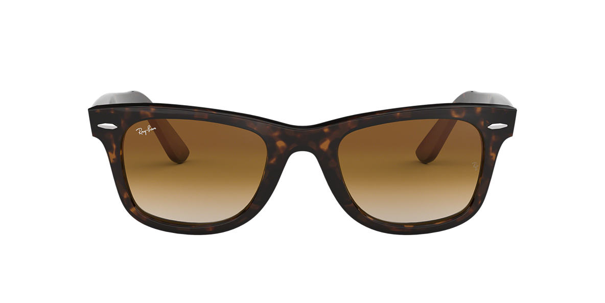 RAY-BAN Tortoise RB2140F Brown lenses 52mm