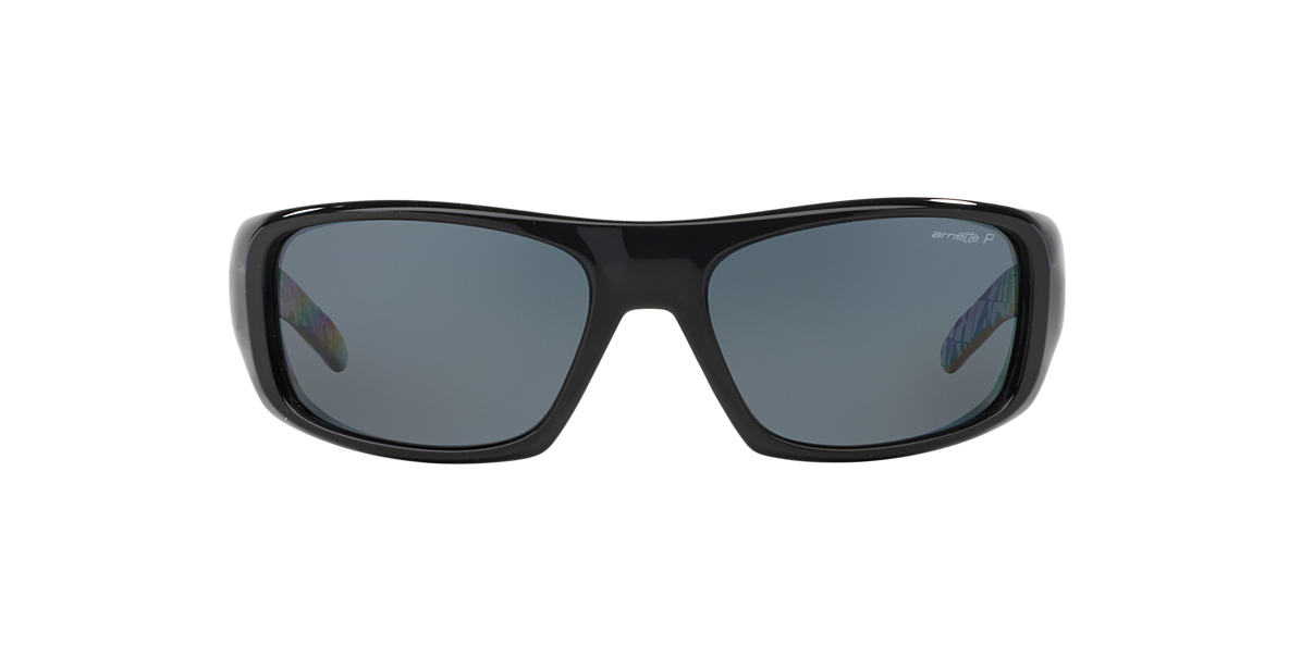 ARNETTE Black AN4182 HOT SHOT Grey polarized lenses 62mm
