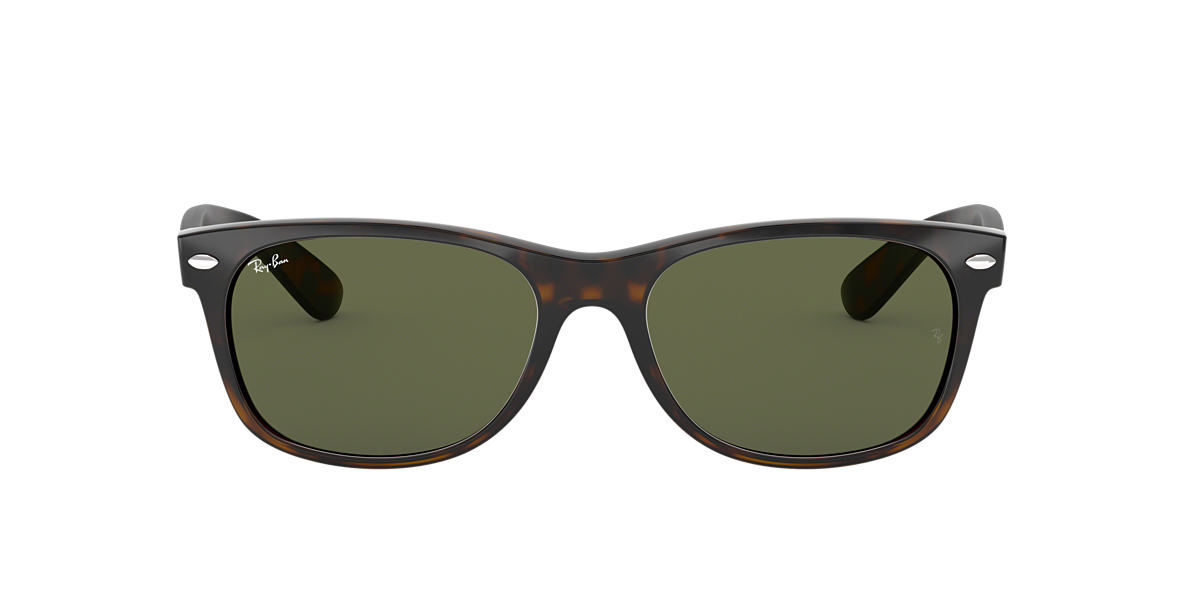 RAY-BAN Tortoise RB2132F Green lenses 52mm