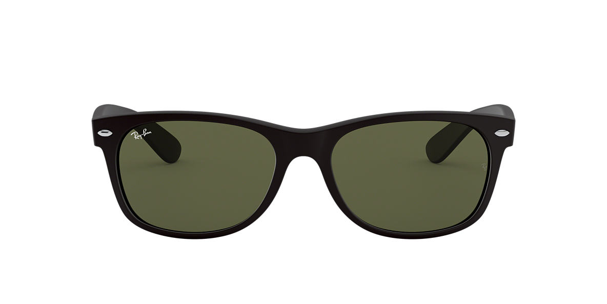 RAY-BAN Black RB2132F Green lenses 55mm
