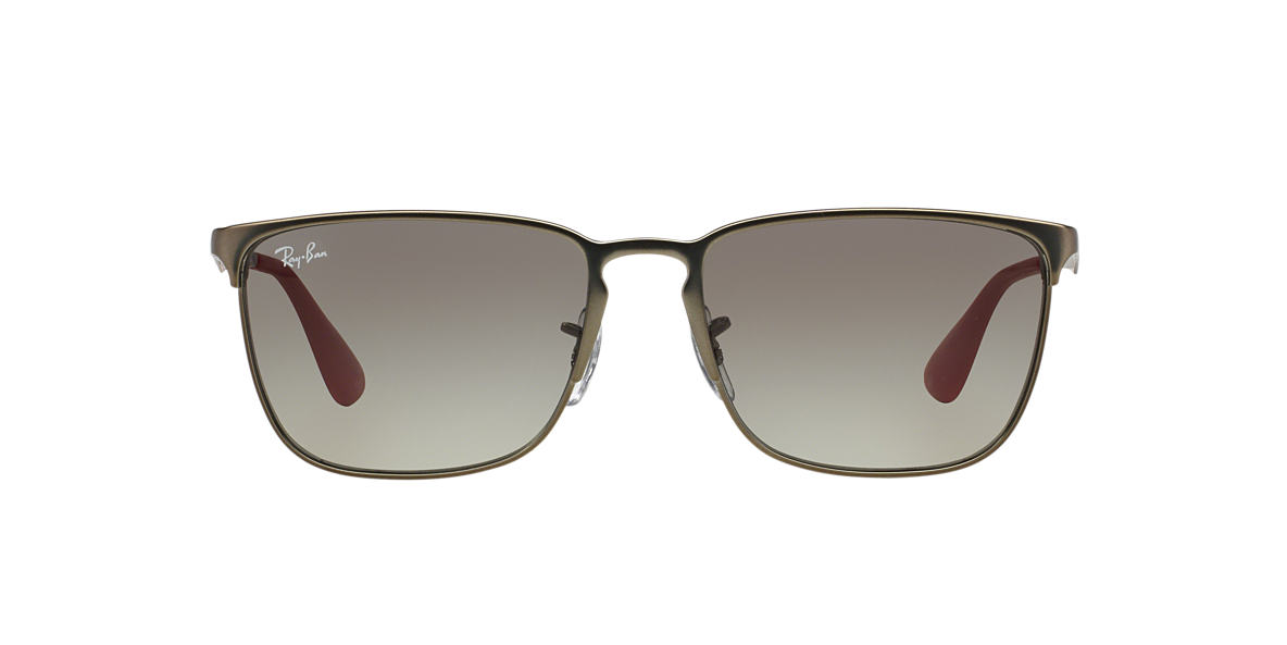 RAY-BAN Gunmetal Matte RB3508 56 Grey lenses 56mm