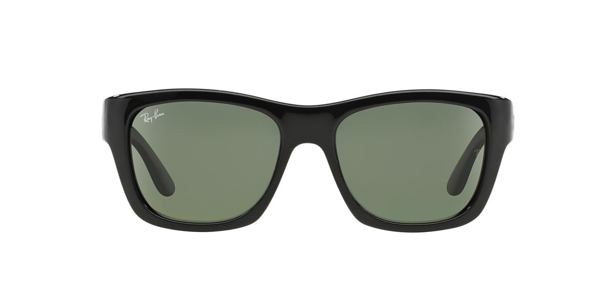 RAY-BAN Black RB4194 53 Green lenses 53mm