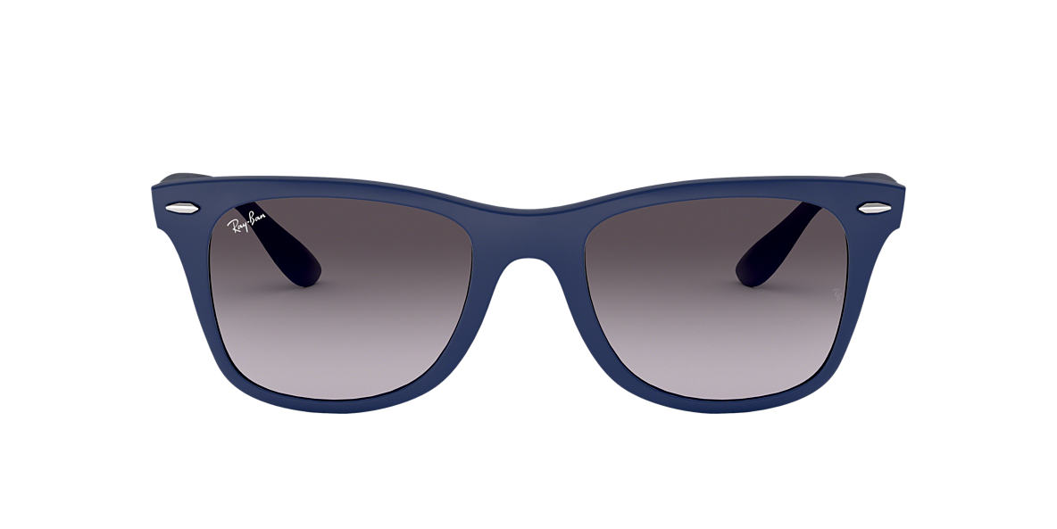 RAY-BAN Blue RB4195 52 WAYFARER LITEFORCE Grey lenses 52mm