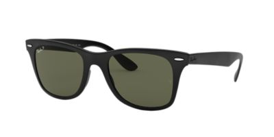 price ray ban sunglasses  Ray-Ban RB4195 WAYFARER LITEFORCE 52 Green \u0026 Black Matte Polarized ...