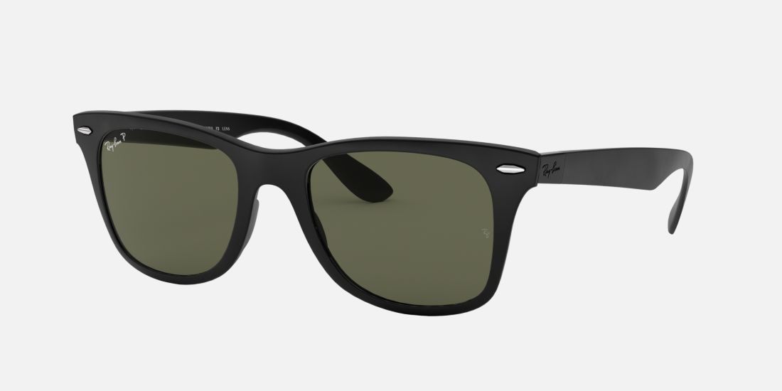 Ray-Ban RB4195 WAYFARER LITEFORCE 52 Green & Black Matte