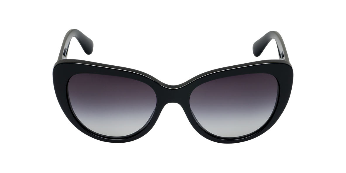 DOLCE and GABBANA Black DG4189 Grey lenses 54mm