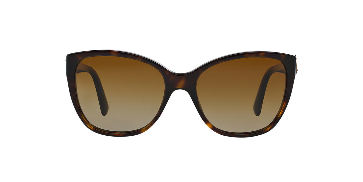DOLCE AND GABBANA  DG4195 Brown polarised lenses 56mm