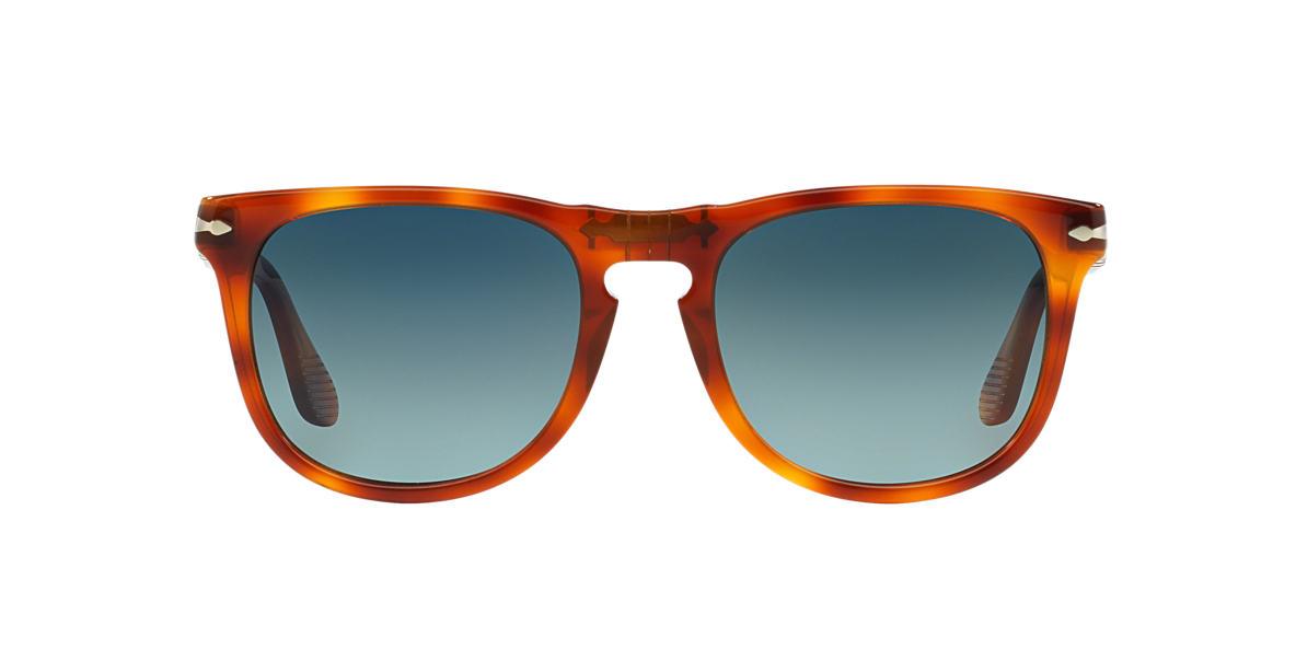 PERSOL Orange PO3055S Blue polarised lenses 54mm