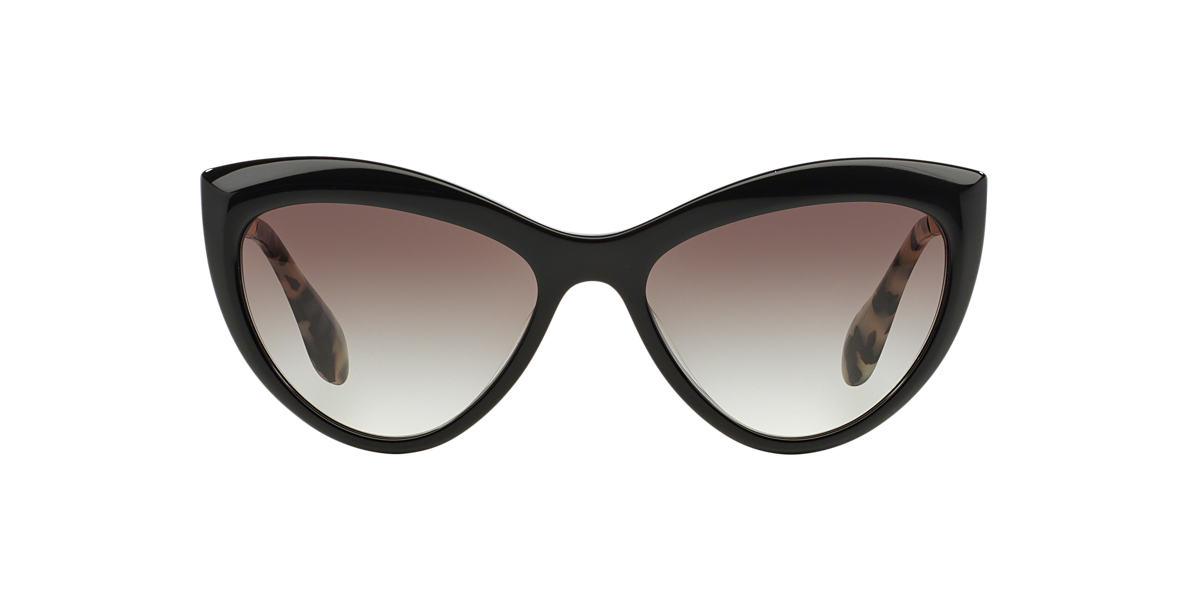 MIU MIU Black MU 08OS Grey lenses 54mm