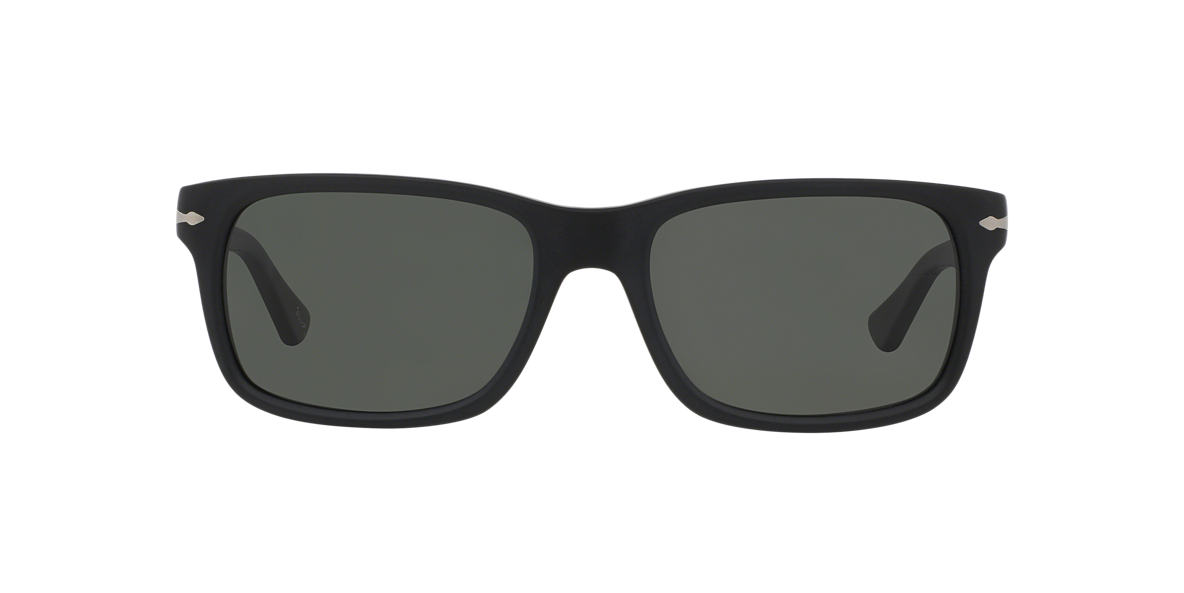 PERSOL Black P03048S (58) Grey polarized lenses 58mm