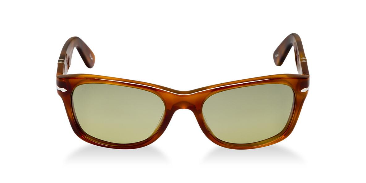 PERSOL Tortoise PO2953S Green polarized lenses 53mm