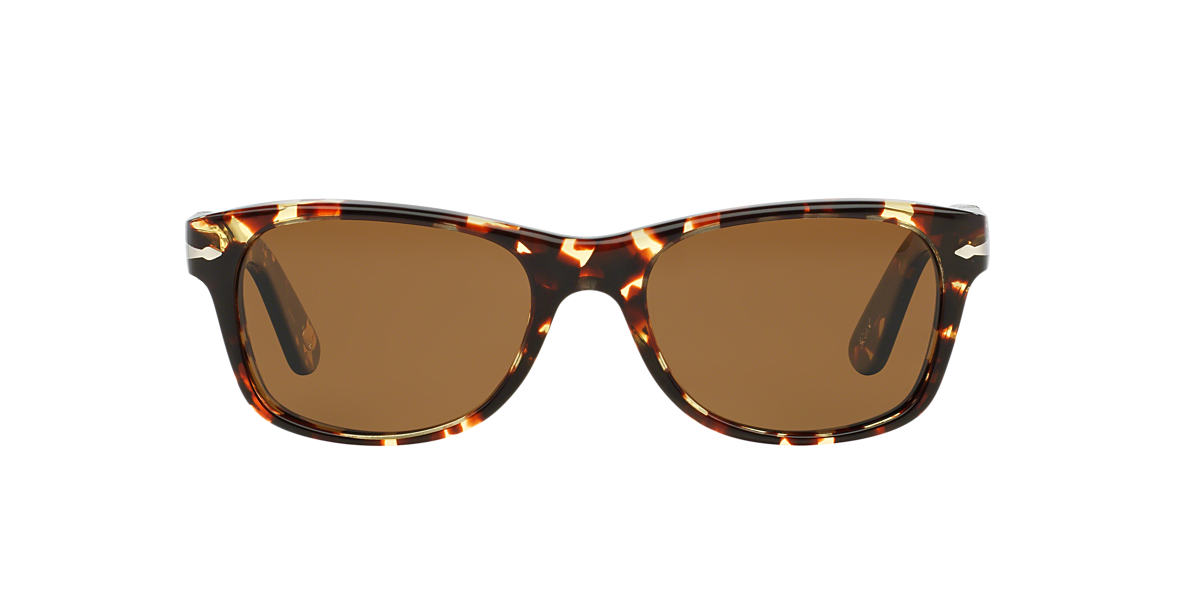 PERSOL Yellow PO2953S Brown polarized lenses 53mm