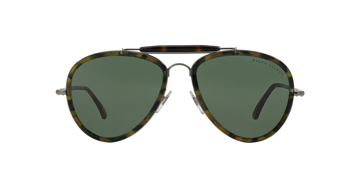 RALPH LAUREN Tortoise RL7038W Green lenses 57mm