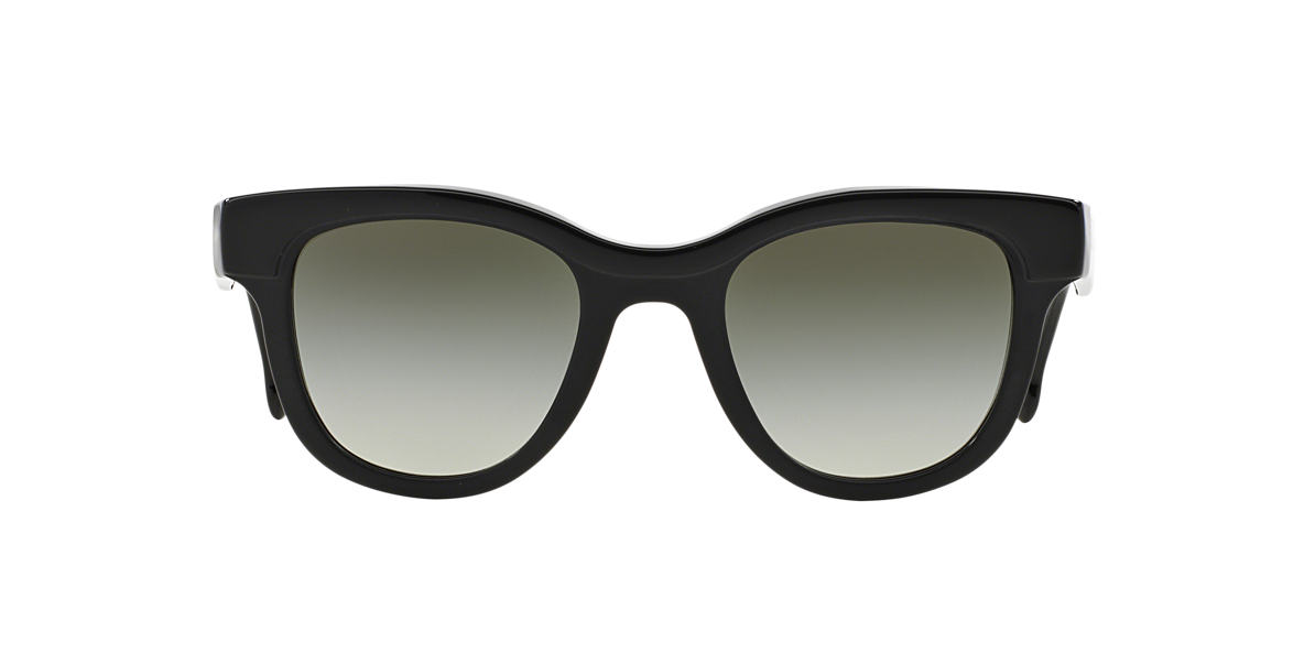 PRADA Black PR 27PS Green lenses 49mm