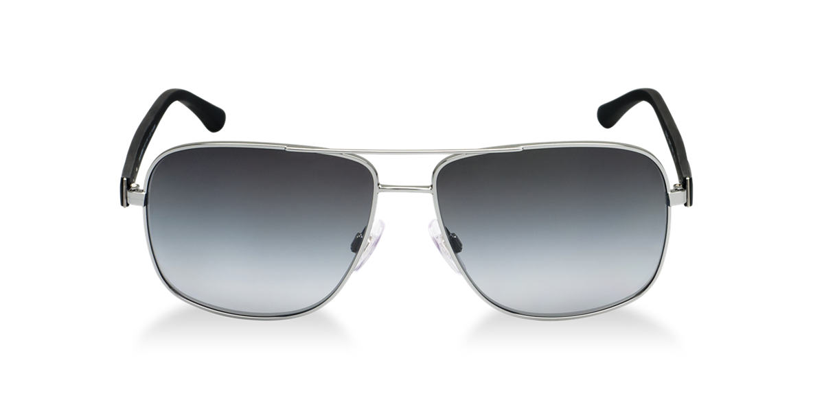 DOLCE and GABBANA Gunmetal DG2122 Grey polarized lenses 59mm