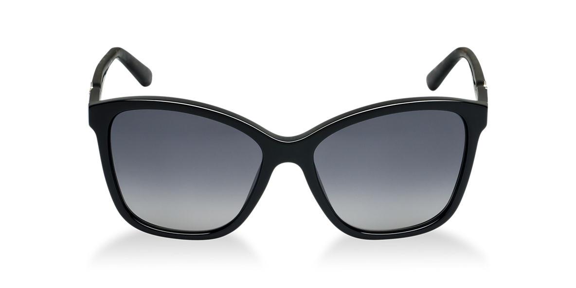 DOLCE and GABBANA Black DG4170P Grey polarized lenses 57mm