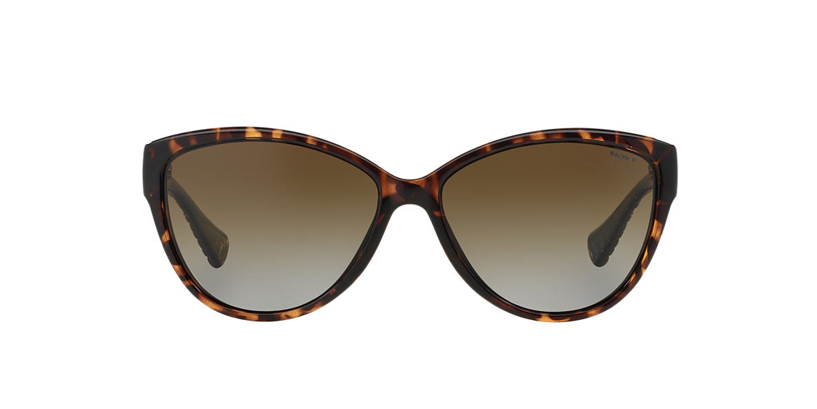 RALPH Tortoise RA5176 Brown polarized lenses 58mm