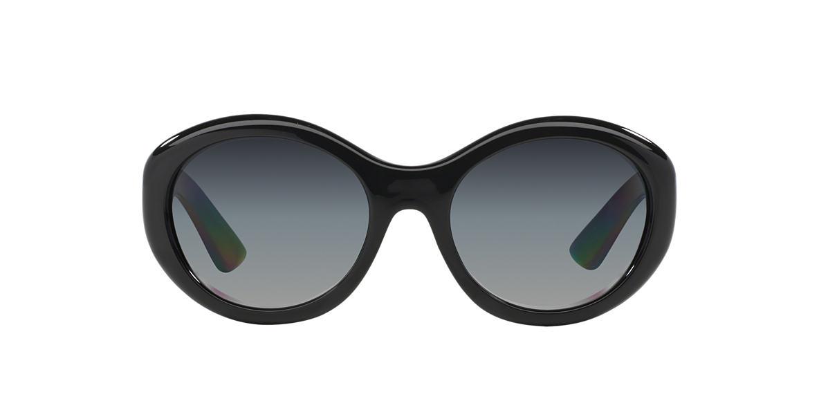 PRADA Black PR 30PS Grey polarized lenses 56mm
