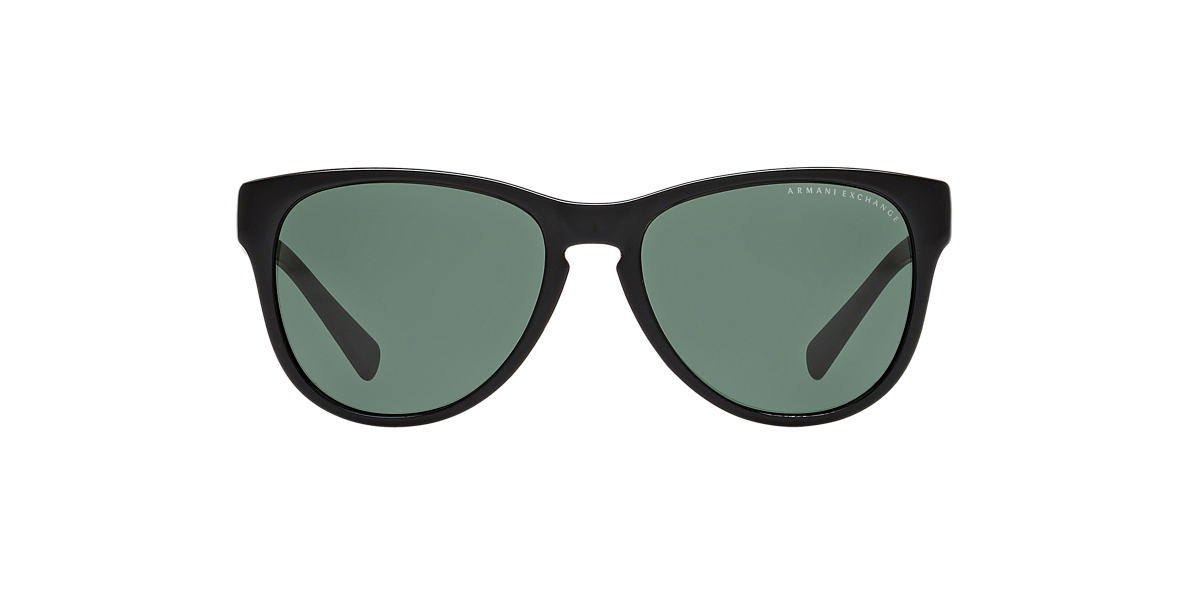 ARMANI EXCHANGE Black AX4015 Green lenses 56mm