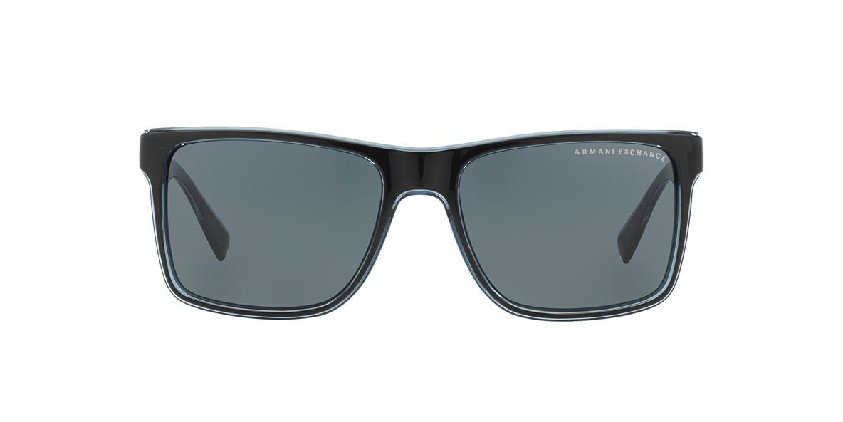 ARMANI EXCHANGE Black AX4016 Grey lenses 57mm