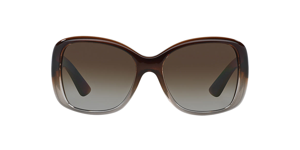 PRADA Brown PR 32PS Brown polarized lenses 57mm