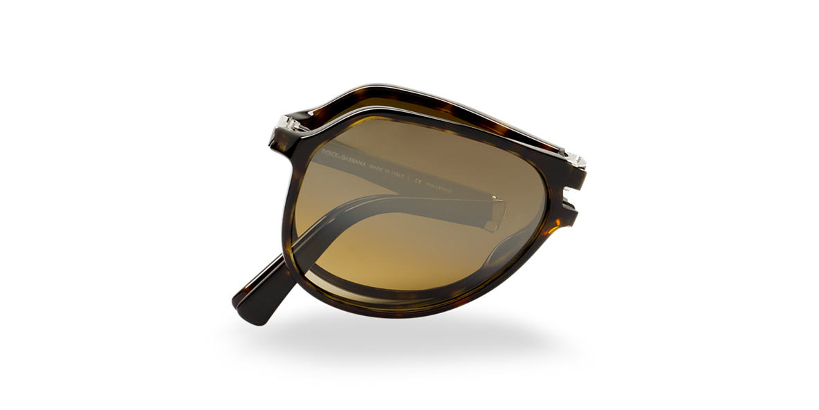 DOLCE and GABBANA Brown DG4196 Brown polarized lenses 61mm