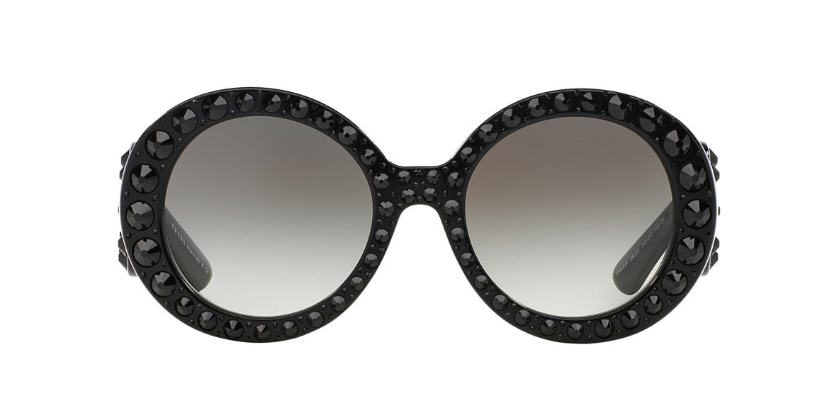 PRADA Black PR 31PS Grey lenses 55mm