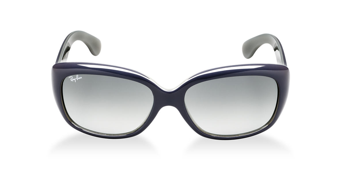 RAY-BAN Silver RB4101 Grey lenses 57mm