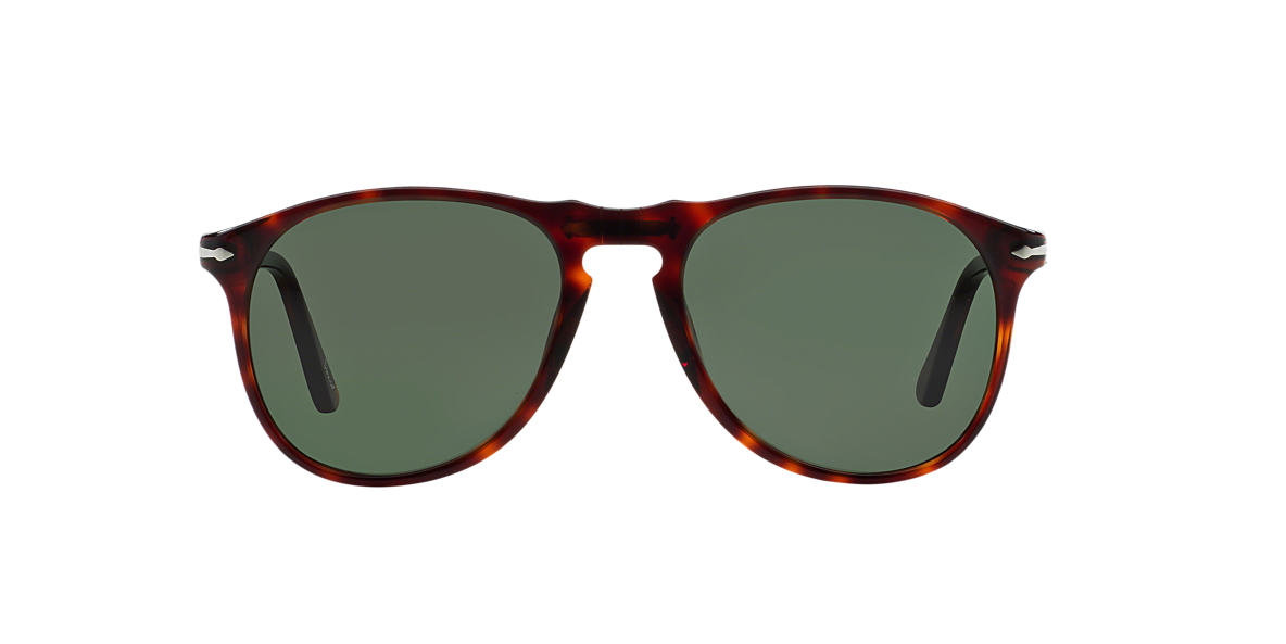 PERSOL Brown PO9649S (55) Grey lenses 55mm