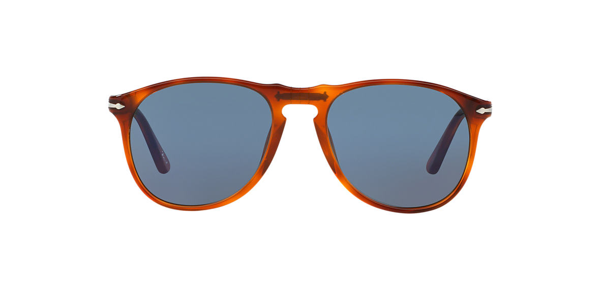 PERSOL Tortoise PO9649S (55) Blue lenses 55mm