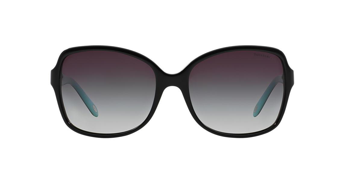 TIFFANY Black TF4085H Grey lenses 58mm