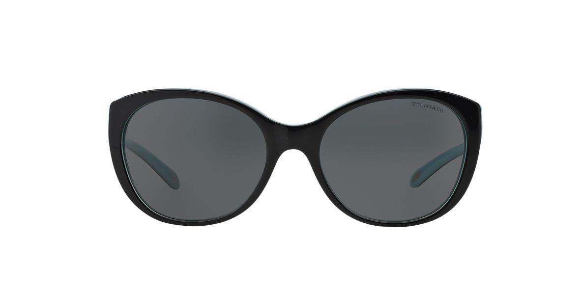 TIFFANY Black TF4086H Grey lenses 56mm