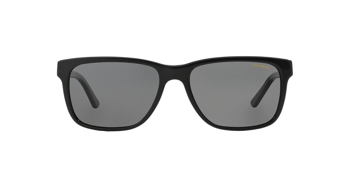 VERSACE Black VE4249 Grey polarized lenses 58mm