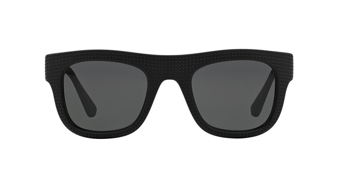 EMPORIO ARMANI Black EA4019 Grey lenses 50mm