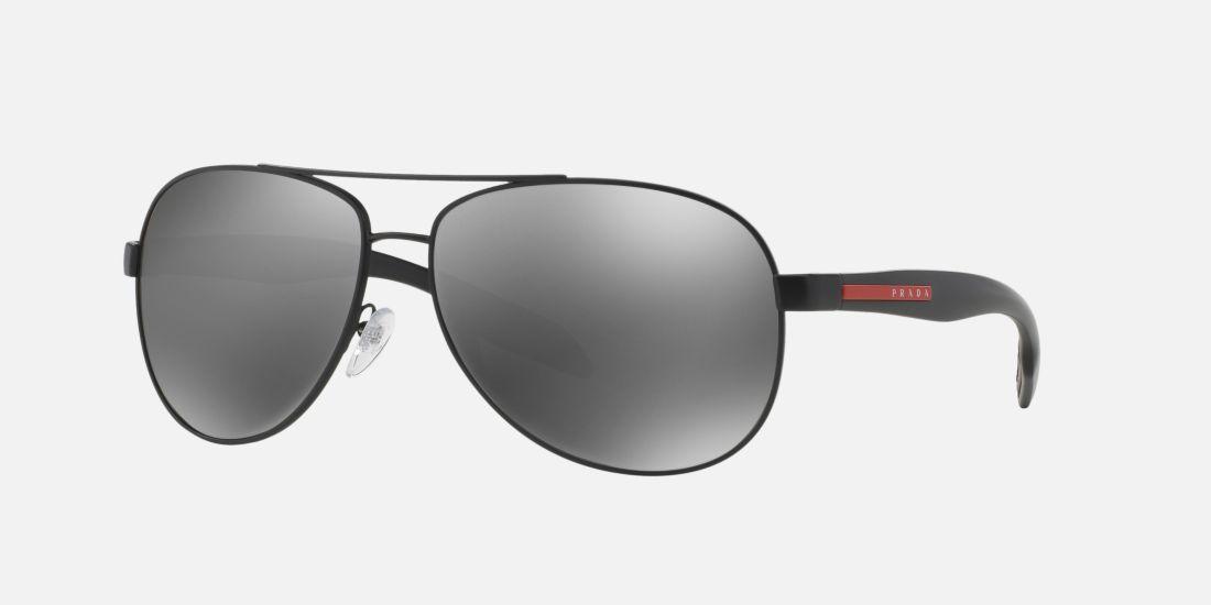 prada fake handbags - Prada Linea Rossa PS 53PS 62 Green & Black Sunglasses | Sunglass ...