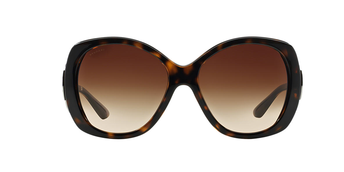 BVLGARI SUN Tortoise BV8126B Brown lenses 58mm