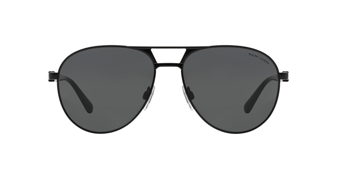 POLO RALPH LAUREN Black PH3083 Grey lenses 58mm